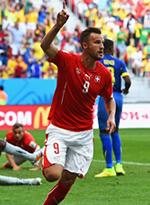 瑞士2-1厄瓜多尔
