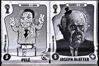 巴西抵制世界杯恶搞漫画