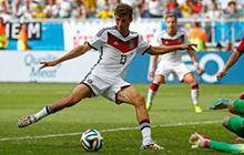 穆勒世界杯全进球 7场8球效率王追纪录