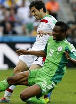 伊朗0-0尼日利亚