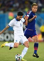 日本0-0希腊