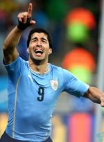 乌拉圭2-1英格兰