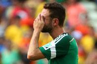 墨西哥淘汰悍将飙泪