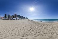全景世界杯:球迷观赛海滩