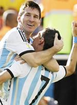 阿根廷1-0瑞士