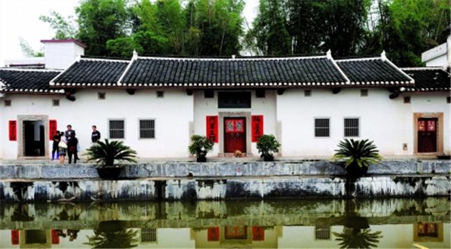 万庆良在梅州市五华县河口村的老宅。来源:南方都市报