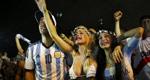 阿根廷球迷喜极而泣