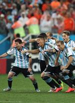 荷兰2-4(点)阿根廷