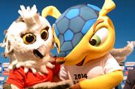 女足世界杯吉祥物亮相