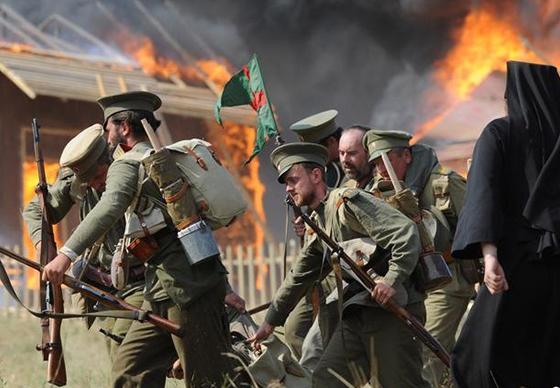 历史爱好者模拟一战场景