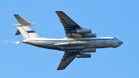 珠海航展:伊尔-76-搜狐军事频道