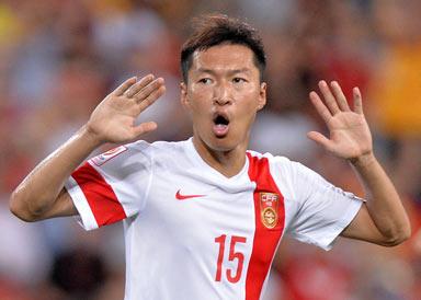 中国2-1乌兹别克斯坦