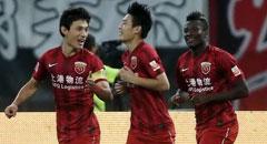 武磊两球 上港2-1绿城取11轮不败返榜首