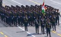 塔吉克斯坦代表团方队