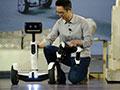 可变机器人的平衡车