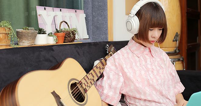 呆萌护士徐菲转型创作才女 清新音乐童心未泯