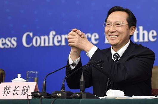 农业部长韩长赋答记者问