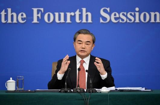 外交部长王毅答记者问