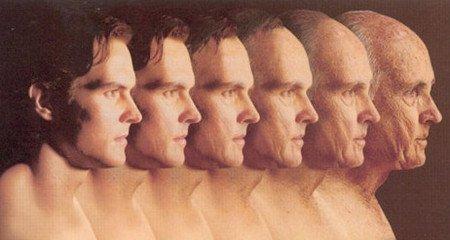 男性器官衰老的表情