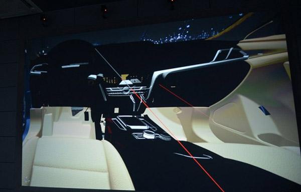 或年内上市 曝启辰全新中型SUV T90内饰图