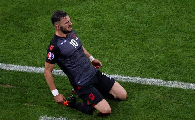 罗马尼亚0-1阿尔巴尼亚