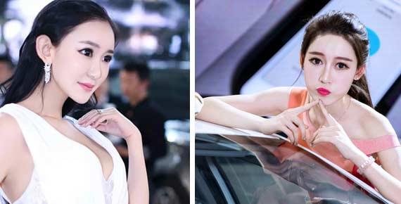 2016沈阳国际车展开幕 美女车模惊艳沈城
