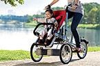 新奇拉风的儿童推车