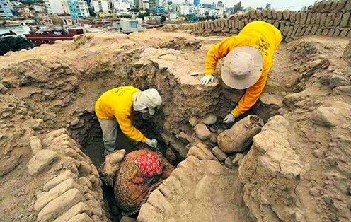 宗日遗址部落的活人墓葬