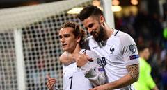 世预赛-法国3-1 吉鲁拥格列兹曼