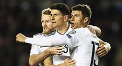 世预赛-德国4-1 穆勒拥两功臣
