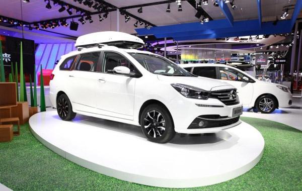 海马新款福美来MPV上海车展发布