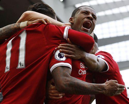 英超-铁腰传射库鸟破门 利物浦3-0米堡进军欧冠