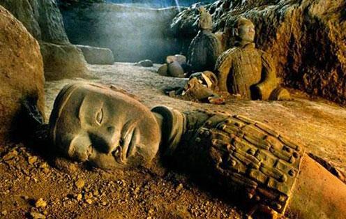 中国最大墓葬的殉葬惨案