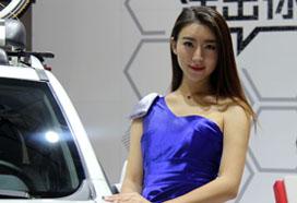 2017昆明国际车展模特