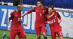 葡萄牙2-1获季军 替补功臣庆祝