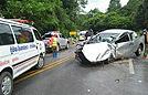 中国游客在泰遇车祸受伤