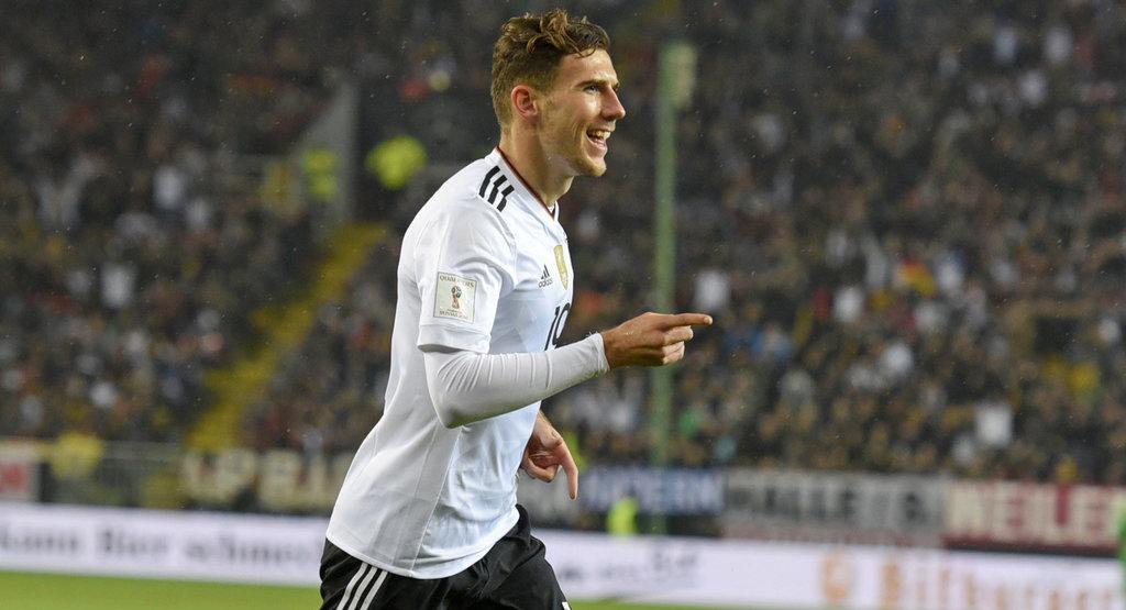 世预赛-德国5-1 格雷茨卡梅开二度