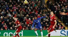 英超-切尔西1-1利物浦 威廉破门
