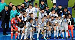 世俱杯-皇马1-0夺冠 众星激情庆祝