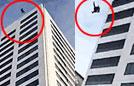 男子24层楼坠地奇迹生还