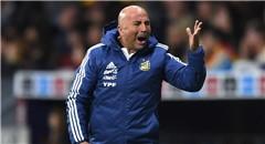 热身赛-西班牙6-1阿根廷 主帅震怒场边咆哮