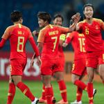 亚洲杯女足8-1大胜约旦