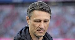 德甲-拜仁0-3 科瓦奇场边面色凝重