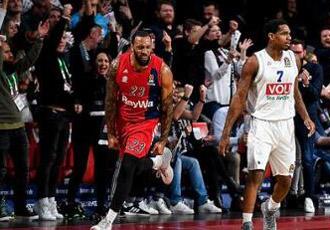 欧冠篮球联赛 米兰阿玛尼111-94大胜布杜克诺斯特