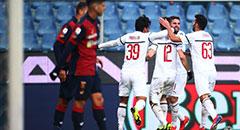 意甲-米兰2-0重返前四 博里尼破门